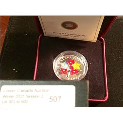 20 dollars 2013; RCM Holiday Candy Cane. In box with COA.