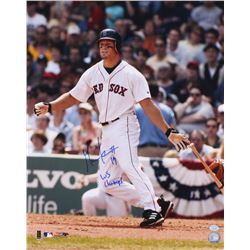 "Gabe Kapler Signed Red Sox 16x20 Photo Inscribed ""WS Champs"" (Hollywood Collectibles COA)"