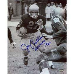 "Joe Bellino Signed Navy 8x10 Photo Inscribed ""Heisman 60"" (Schwartz COA)"