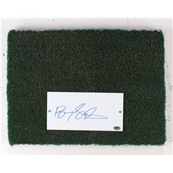Barry Sanders Signed Silverdome Game-Used 12x16 Turf Slab (RJM COA & Schwartz COA)