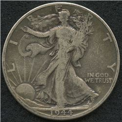 1944-D Walking Liberty Silver Half Dollar