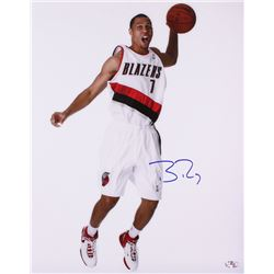 Brandon Roy Signed Trail Blazers 16x20 Photo (Hollywood Collectibles COA)
