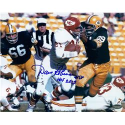 "Dave Robinson Signed Packers 8x10 Photo Inscribed ""HOF 2013"" (Schwartz COA)"