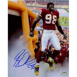 Brian Orakpo Signed Redskins 8x10 Photo (Schwartz COA)