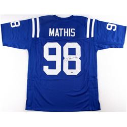 Robert Mathis Signed Colts Jersey (Schwartz COA)