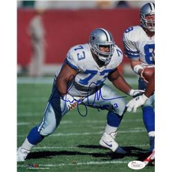 "Larry Allen Signed Cowboys 8x10 Photo Inscribed ""HOF 13"" (JSA COA)"