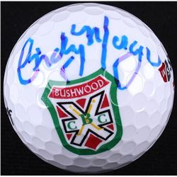 Cindy Morgan Signed Bushwood Golf Ball (Schwartz COA)