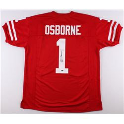 Tom Osborne Signed University of Nebraska Jersey (Schwartz COA)