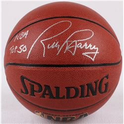 "Rick Barry Signed Basketball Inscribed ""NBA Top 50"" (Schwartz COA)"