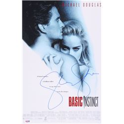 "Sharon Stone Signed ""Basic Instinct"" 11x17 Photo (PSA COA)"