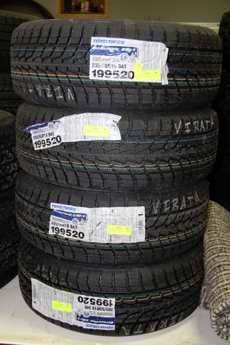 Toyo Tires Enscribe Csi 1 Winter Tires X4