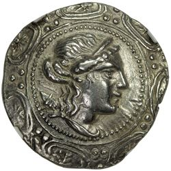 CELTIC CENTRAL EUROPE & ASIA MINOR: 2nd-1st century BC, AR tetradrachm (16.03g)