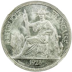 FRENCH INDOCHINA: AR piastre, 1925-A