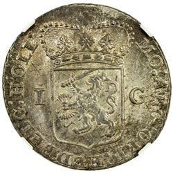 HOLLAND: AR gulden, 1793