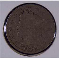 "1899 US Liberty ""V"" Nickel"