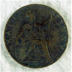 1903 Great Britain Half Penny
