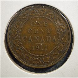 1911 Canada One Cent