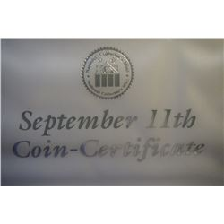 9/11 Anniversary Twin Towers Quarter Collection and 2001 - 1 oz .999 Silver Ground Zero Walking Libe