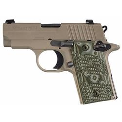 "*NEW* SIG SAUER P238 Scorpion 380 ACP 2.7"" 7+1 FDE Grip FDE 798681437665"