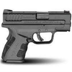 "*NEW* SPRINGFIELD ARMORY XD MOD.2 SUB-COMPACT 9MM DAO 3"" 13+1/16+1 Black Poly SS 706397899493"