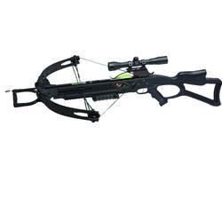 *NEW* Carbon Express 20271 X-Force 350 Crossbow 300fps 165 lbs 4x32mm Scope Black 044734202712