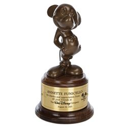 "Annette Funicello's ""Mousecar"" award."
