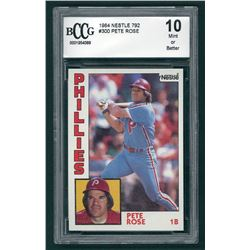 Pete Rose 1984 Topps #300 (BCCG 10)
