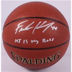 "Frank Kaminsky Signed Basketball Inscribed ""MJ Is My Boss"" (Schwartz COA)"