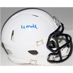 "Ed O'neill Signed ""Polk High"" Mini-Helmet (Schwartz COA)"