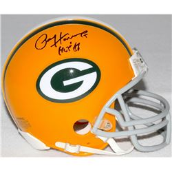 "Paul Hornung Signed Packers Mini-Helmet Inscribed ""HOF 86"" (Schwartz COA)"