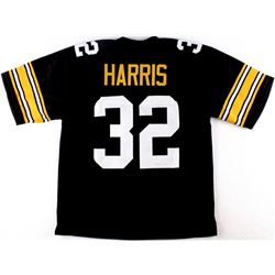 Franco Harris Steelers On-Field Style Custom Stitched Jersey (Size XL)