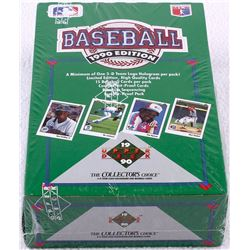 1990 Edition Upper Deck Baseball Unopened Box of (36) Packs