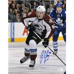 Gabriel Landeskog Signed Avalanche 11x14 Photo (JSA COA)