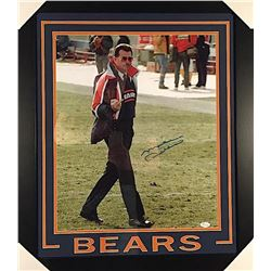 Mike Ditka Signed Bears 23x27 Custom Framed Photo (JSA COA)