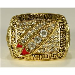 Mark Rypien Washington Redskins High Quality Replica 1991 Super Bowl XXVI Championship Ring