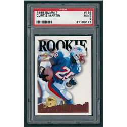 Curtis Martin 1995 Summit #166 RC (PSA 9)