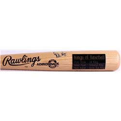 "Hank Aaron, Nolan Ryan & Pete Rose Signed ""Kings of Baseball"" Adirondack Baseball Bat (JSA LOA)"