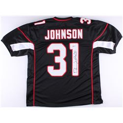 David Johnson Signed Cardinals Jersey (JSA COA)