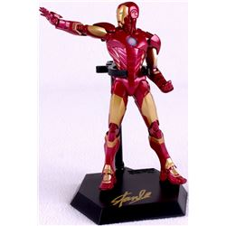 "Stan Lee Signed ""Iron Man"" High Quality Marvel 9"" Action Figure with Original Box (PSA COA)"