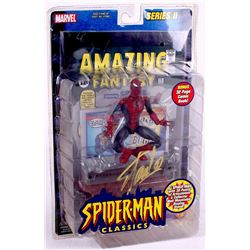 "Stan Lee Signed ""Spider-Man"" Marvel Classics Action Figure with Original Box (PSA COA)"