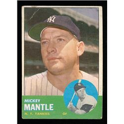 Mickey Mantle 1963 Topps #200