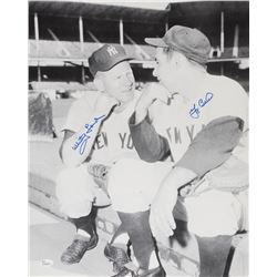 Yogi Berra & Whitey Ford Signed Yankees 16x20 Photo (JSA COA)