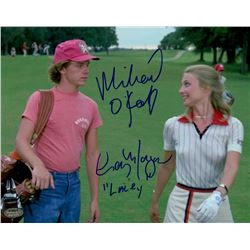 "Cindy Morgan & Michael O'Keefe Signed ""Caddyshack"" 8x10 Photo Inscribed ""Lacey"" (Schwartz COA)"