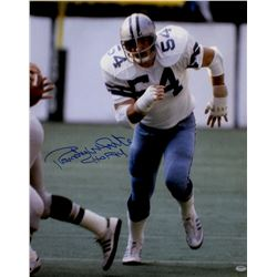 "Randy White Signed Cowboys 16x20 Photo Inscribed ""HOF 94"" (Schwartz COA)"