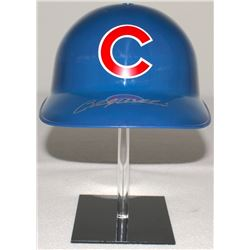 Billy Williams Signed Cubs Full-Size Replica Batting Helmet (Schwartz COA)