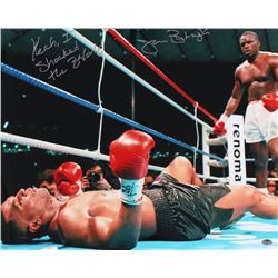 "James ""Buster"" Douglas Signed 16x20 Photo Inscribed ""Yeah I Shocked The World"" (Schwartz COA)"