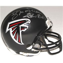 "Andre Rison Signed Falcons Mini-Helmet Inscribed ""Showtime"" (Schwartz COA)"