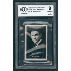 Jack Dempsey 1922 Sporting Champions #9 (BCCG 8)