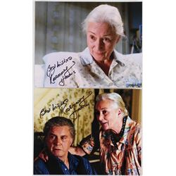 "Lot of (2) Rosemary Harris Signed ""Spider Man"" 8x10 Photos Inscribed ""Best Wishes"" (PA LOA)"
