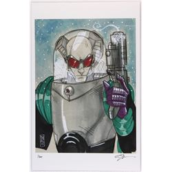 """Mr. Freeze"" Batman Villain Series Signed Limited Edition 11x17 Lithograph by Tom Hodges #2/20"